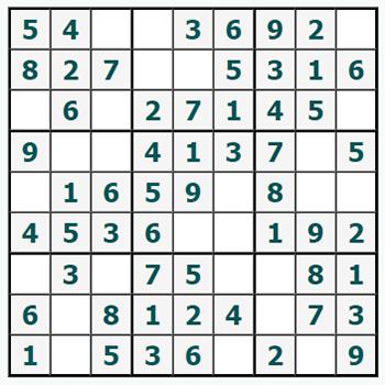 Online Sudoku Gratis